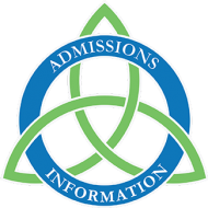 admissions information button